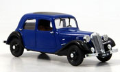 Citroen Traction 7 a blu nero 1934