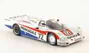 Porsche 962 1987 No.72 Primagaz 24h Le Mans
