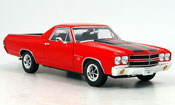 Chevrolet El Camino ss396 red 1970
