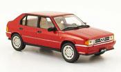 Alfa Romeo 33 miniature quadrifoglio  rouge 1983