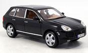 Porsche Cayenne Turbo miniature noire 2003
