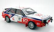 Audi Quattro Rallye miniature no. 11 acropolis 1982