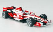 Honda F1   Super Aguri SA07 T. Sato Zweite Saisonhalfte 2007 Minichamps