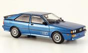 Audi Quattro blue 1981