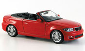 Bmw 118 E88 Cabriolet red 2008