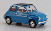 Fiat 500 blue 1965