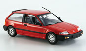 Honda Civic diecast red 1990