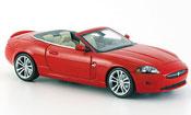 Jaguar XK Cabriolet red geoffnetes verdeck 2005