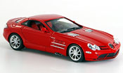 Mercedes SLR McLaren rosso 2003