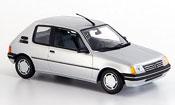 Peugeot 205 miniature grise metallisee 1990
