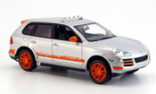 Porsche Cayenne Transsyberia gray orange 2007