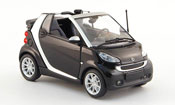 Smart Fortwo Cabriolet nero 2007
