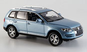 Volkswagen Touareg   gray metallized 2007 Minichamps