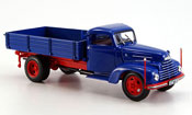 Ford FK miniature 3500 Kipper bleu rouge 1951