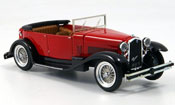 Alfa Romeo Torpedo 1750 rosso 1930