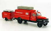 L28 Kastenwagen avec TSA Anhanger pompier