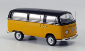 Volkswagen Combi   t2a luxusbus orange black Schuco