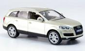 Audi Q7 miniature beige