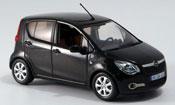 Opel Agila miniature noire