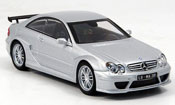 Mercedes CLK miniature DTM AMG Coupe grise metallisee