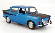 Simca 1000 diecast rally 2 blue 1976