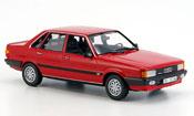 Audi 80 quattro miniature rouge 1985