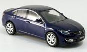 Mazda 6 6 Limousine blue 2007