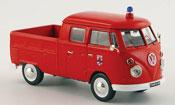 Volkswagen Combi t 1 doppelkabine pompier 1961