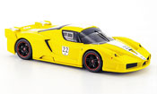 Ferrari Enzo FXX  no.22 giallo avec biancoem streifen Hot Wheels Elite