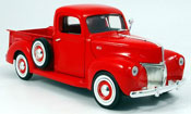Ford 1940 miniature pick-up rouge