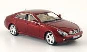 Mercedes CLS miniature 320 CDI  rouge 2006