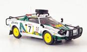 Lancia Stratos Rallye  hf no.7 safari rallye 1977 IXO 1/43
