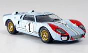 Ford GT 40  MKII No.1 Miles Hulme Zweiter Le Mans 1966 IXO