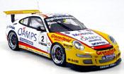 Porsche 997 GT3 Cup 2006  j. richards australian carrera Autoart