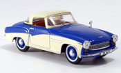 Wartburg 313 miniature Sport bleu beige 1957