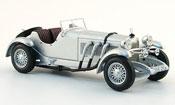 Mercedes SSK miniature grise metallisee 1928