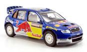 Skoda Fabia WRC evo ii red bull ii