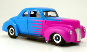 Miniature Hot Rod Ford Hot Rod deluxe coupe hot rod hellbleu 1940