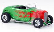 Ford 1932 miniature Hot Rod verte