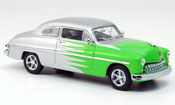 Miniature Hot Rod Mercury Club Coupe Hot Rod grise avec verte 1949
