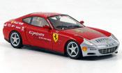 Ferrari 612 scaglietti rosso grigio metallizzato 15000 red miles tour