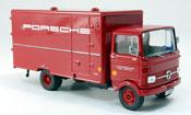 Bmw LP 608 miniature Renndienst Koffer LKW