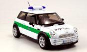 Mini Cooper miniature D polizei deutschland
