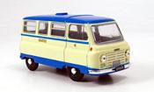J2 Bus beige blue Bradford