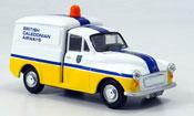Miniature Morris Minor   Van Kastenwagen British Caledonian Airways