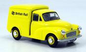 Morris Minor   Van yellow Kasten British Rail Oxford