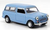 Austin Mini Van   Mini Traveller bleu grise Oxford