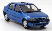 Renault Dacia miniature Logan bleu