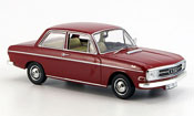 Audi 72 miniature rouge 2 Turer 1965