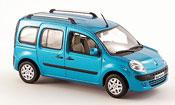 Renault Kangoo miniature bleu avec fenstern 2008